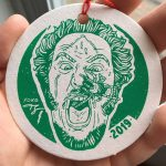 2019 Wet Bandits Christmas Ornament Side 2