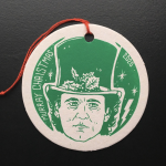 2020 Bill Murray Christmas Ornament